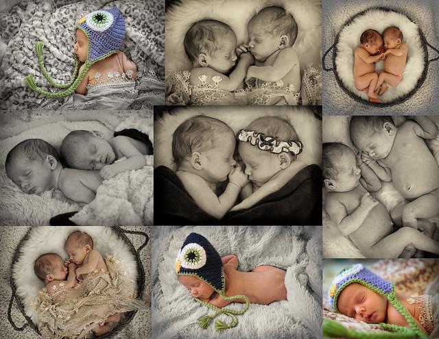 Peyton&Colby Newborn twins