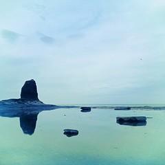 Black Nab (In Blue), Saltwick Bay, Yorkshire