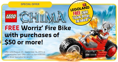 LEGO Shop August 2014 Legends of Chima