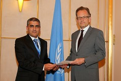 NEW PERMANENT REPRESENTATIVE OF TAJIKISTAN PRESENTS CREDENTIALS