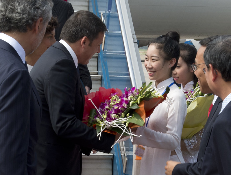 Parte oggi la missione di Renzi in Vietnam Cina e Kazakhstan