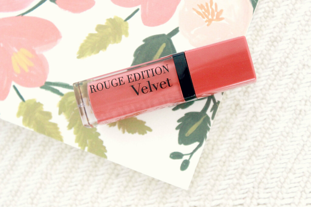 Bourjois Velvet Lipstick Peach Club