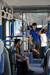 台中BRT藍線車輛