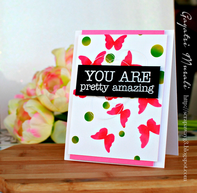 You are pretty amazing card