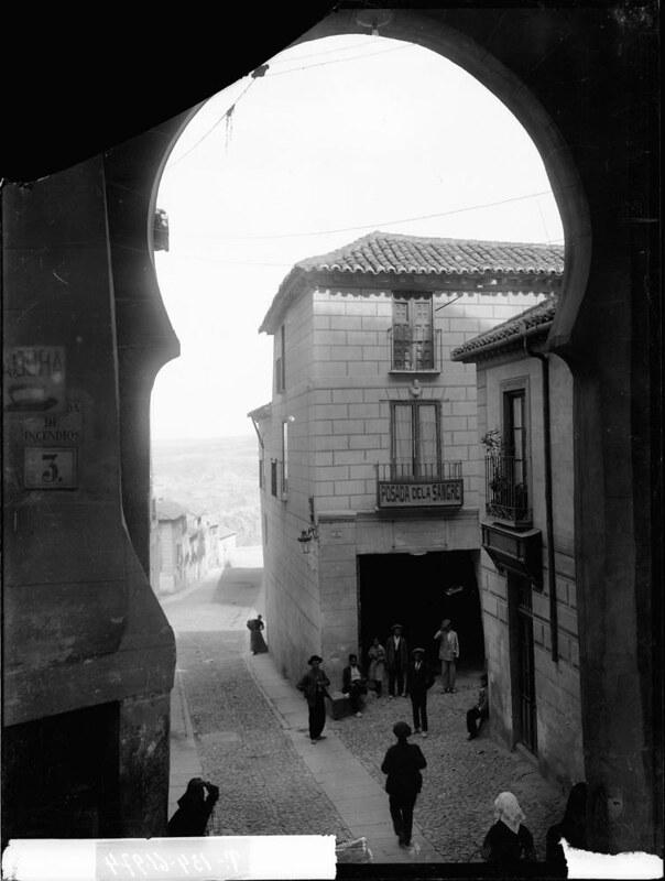 Posada de la Sangre a comienzos del siglo XX. Fotografía de J. Lacoste © MECD, Fototeca del IPCE, signatura VN-22647_P