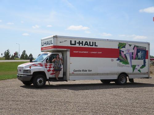 uhaulin across north dakota a blog about cycling written between