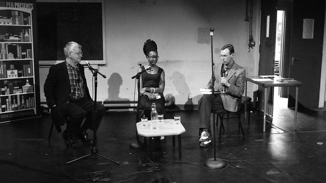 Nnedi Okorafor & Ken MacLeod Scottish Pen talk 03