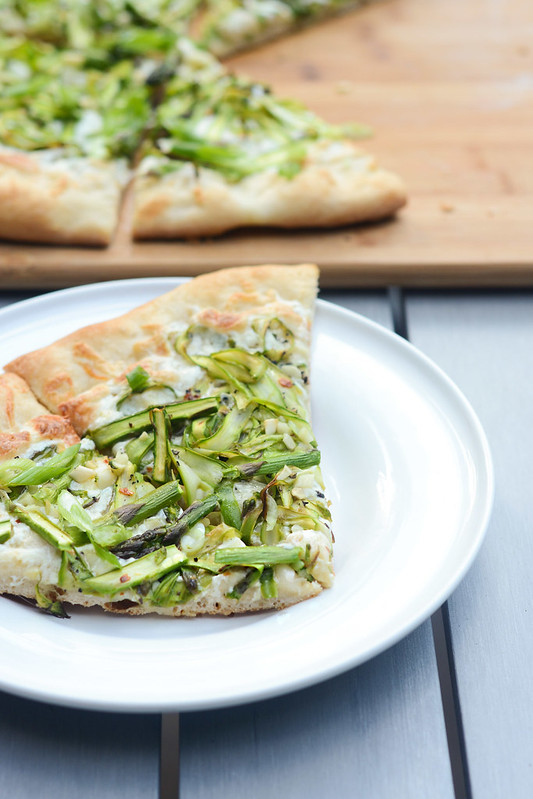 Shaved Asparagus Pizza - Cook Like A ChampionCook Like A ...