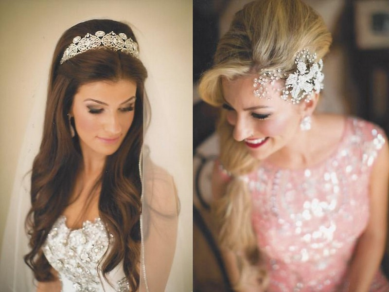 Bridal styles boutique brides Donna and her sister