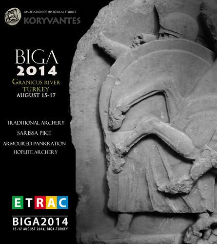 Οι ΚΟΡΥΒΑΝΤΕΣ στη BIGA της Τουρκίας, 15-17 Αυγούστου 2014