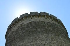 Chateau de Montbrun round tower