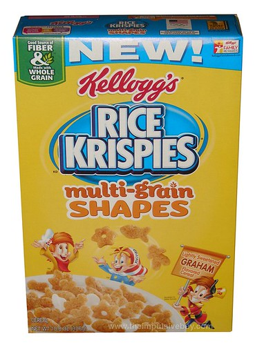 Kellogg's Rice Krispies Multi-Grain Shapes Cereal