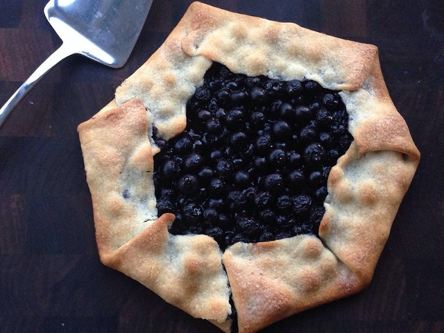 Blueberry galette on twothirtyate.com