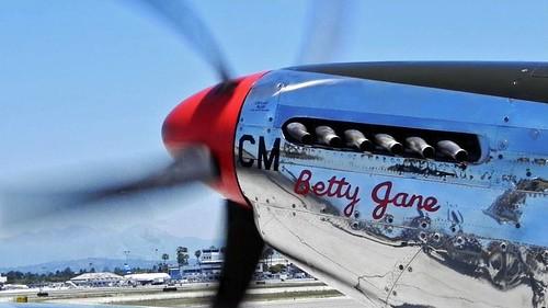 P-51C Razorback Mustang 'Betty Jane'