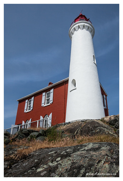 Lighthouse at Fort Rodd, BC.