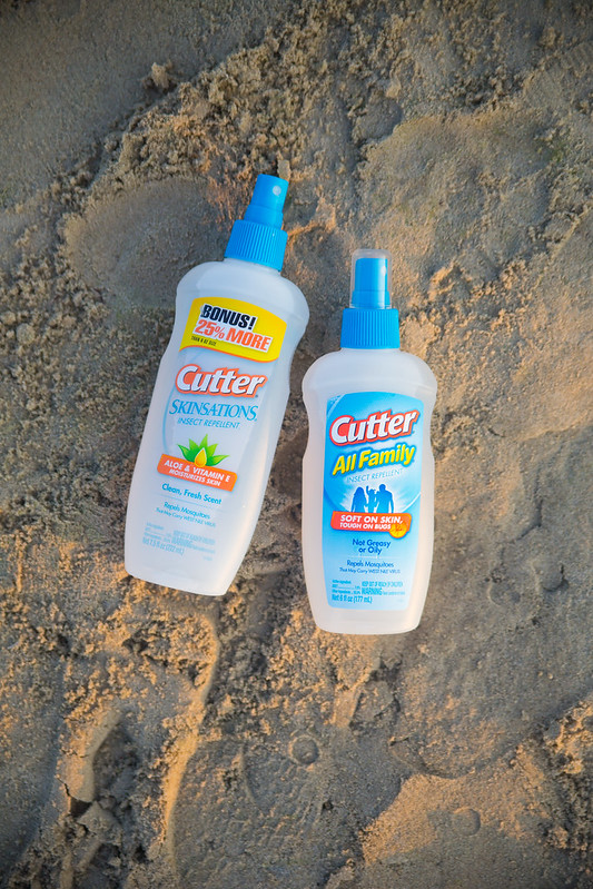 Cutter Insect Repellent in Sand