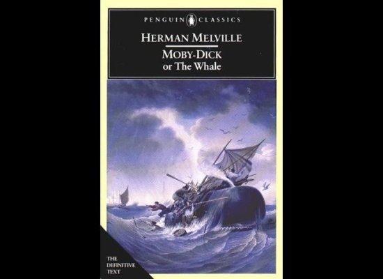 《白鲸》Moby Dick 的封面