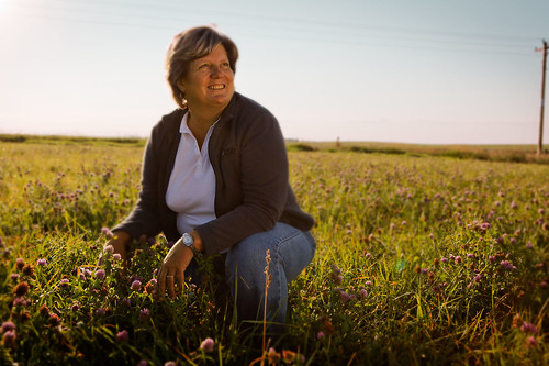 """My farm directly benefits from my contribution to the United Soybean Board and its programs,"" said Laura Foell (pictured above), who farms soybeans and corn in Iowa. ""Not only does the work they do increase the value of my beans, but it also ensures that our industry and its customers have the freedom to operate. In today's world, where consumers are increasingly concerned about how their food is grown and raised, that's very important."""