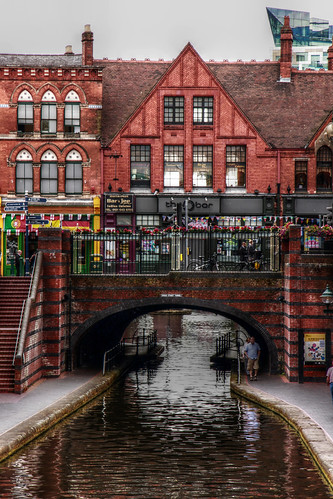 Birmingham in July 2014 - along the canal
