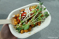 Chickpea Salad from Vij's Railway Express