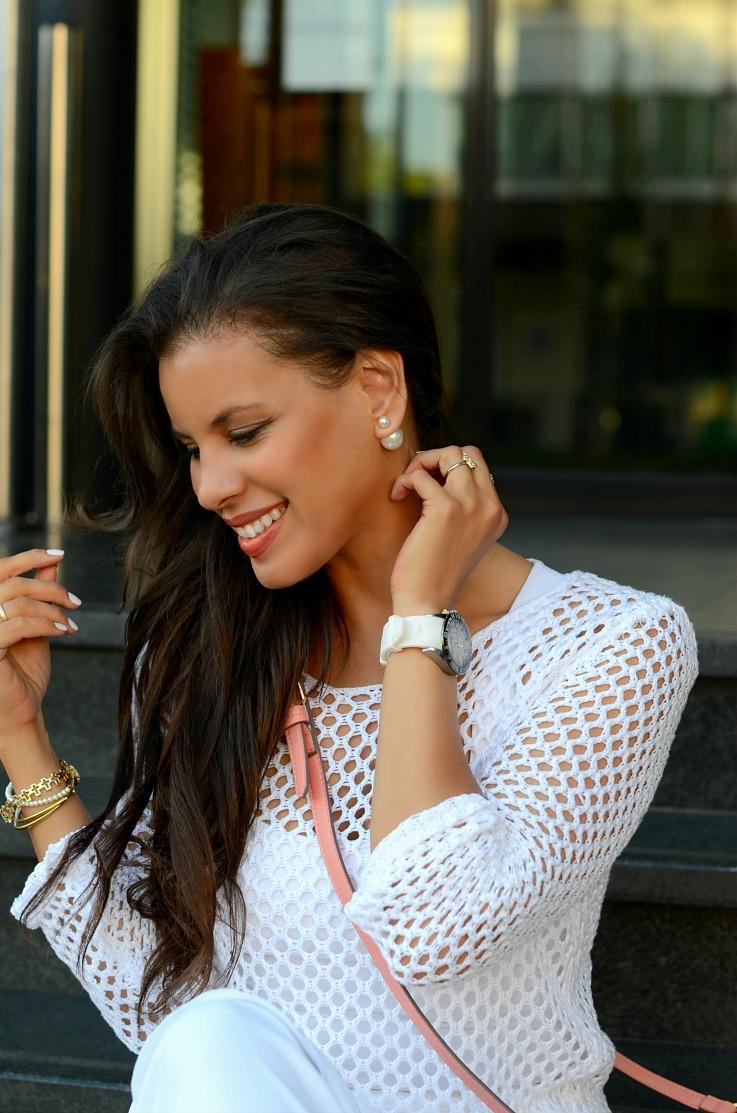DSC_6652 Mise En Dior Earings, White Mesh sweater, tamarachloestyleclues,