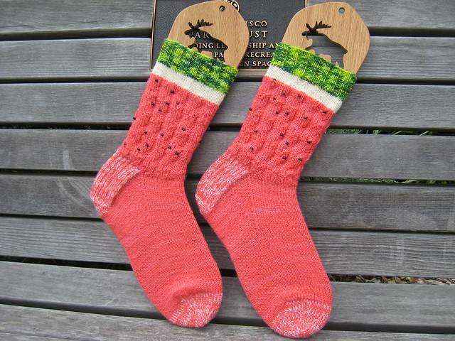 Socks-2014-04-12-Watermelon_Knitters-Brewing-Company