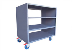 Four Tier Storage Trolley