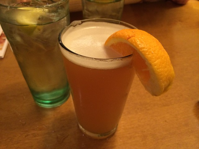 Blue Moon draft beer - Olive Garden