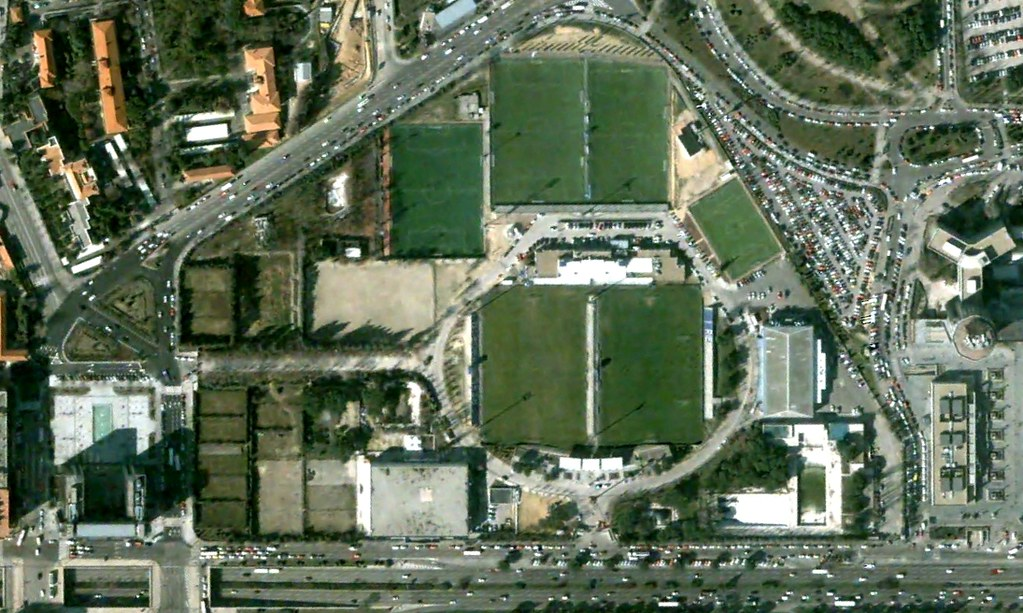 De la Ciudad Deportiva del Real Madrid a las Cuatro Torres