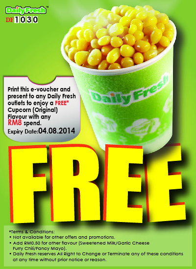 DailyFresh e-Voucher - Bro Framestone