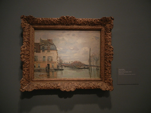 DSCN1830 _ Flood at Port-Marly, 1872, Alfred Sisley, National Gallery of Art at Legion of Honor