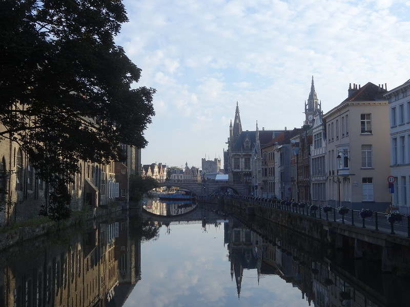 Ghent after sunrise