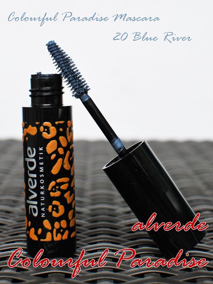 alverde colourful paradise mascara 20 blue river