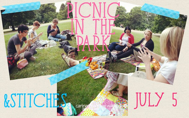 &Stitches picnic in the Park - July 5 2014