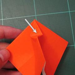วิธีพับกระดาษเป็นที่คั่นหนังสือรูปผีเสื้อ (Origami Butterfly Bookmark) 021