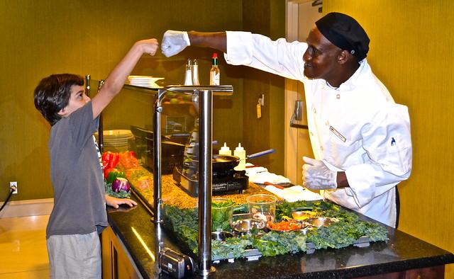Breakfast Buffet - DoubleTree Hilton Lancaster PA
