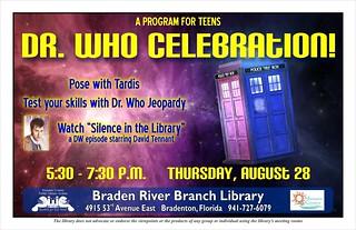 Dr. Who Celebration @ the Braden River Branch Library