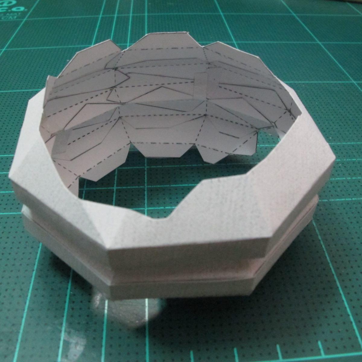 วิธีทำโมเดลกระดาษของเล่นคุกกี้รัน คุกกี้รสพ่อมด (Cookie Run Wizard Cookie Papercraft Model) 013