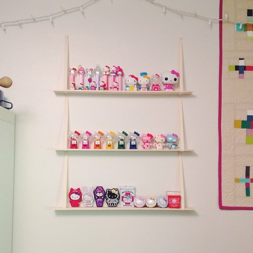 Hello Kitty Shelves
