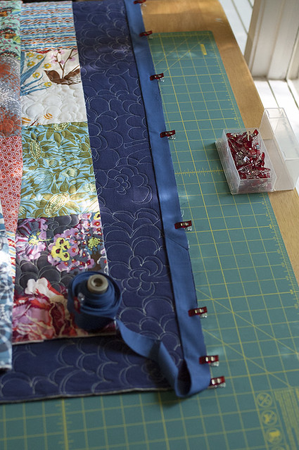 Binding the AMH Patchwork
