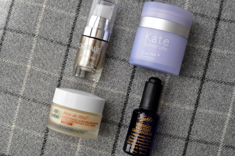 mini review caudalie nuxe kate somerville kiehls rottenotter rotten otter blog
