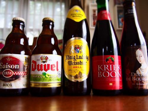 ヨーロッパビールのセット買いました