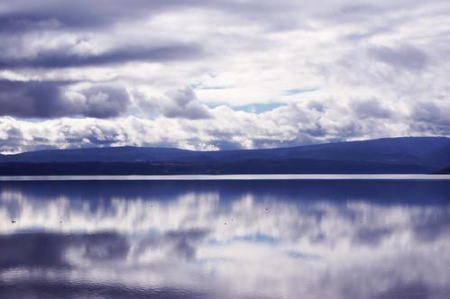 chile light lake beautiful clouds landscape lago photography view sur villarrica