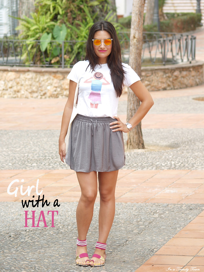 OUTFIT GIRL WITH A HAT