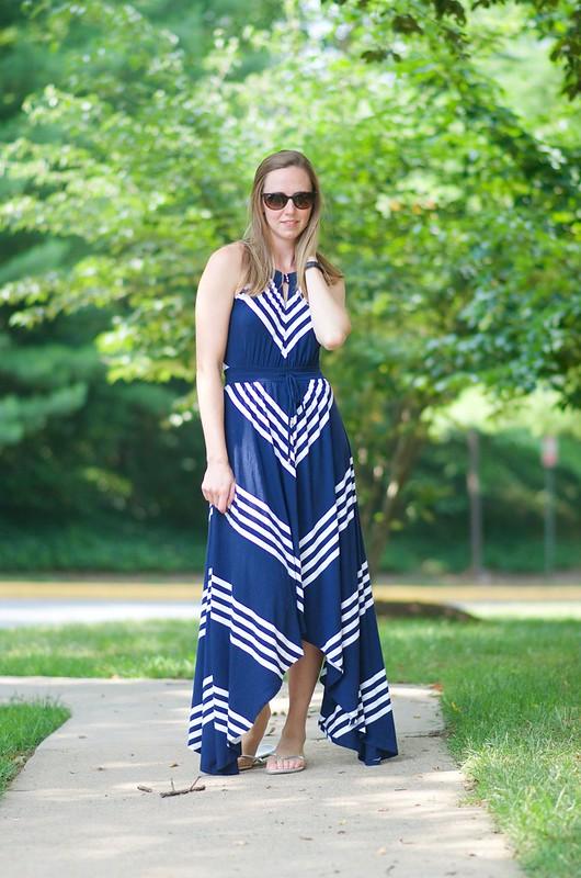 blue v dress 2