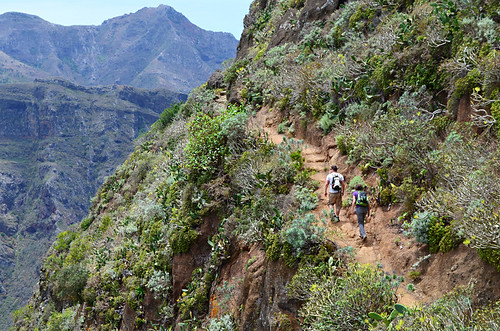 Climbing, Anaga, Tenerife