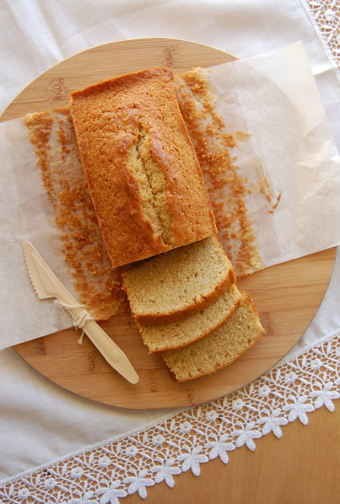 Whisky and nutmeg pound cake / Bolo de uísque e noz-moscada