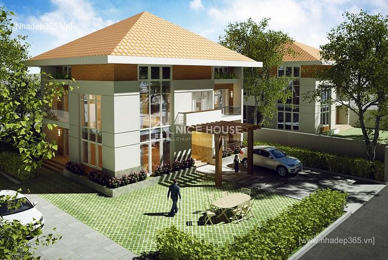 Thiết kế biệt thự vườn nhà Anh Minh - Hà Nội_03
