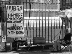 Protesta Plaza Mayor