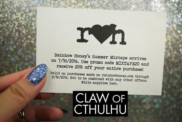 Rainbow Honey July Mystery Bag: Unboxing!